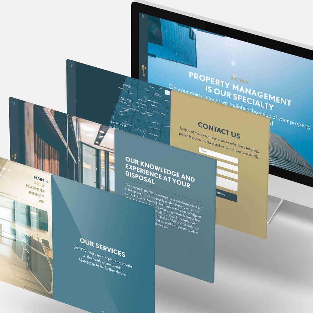 Baitov site Internet homepage