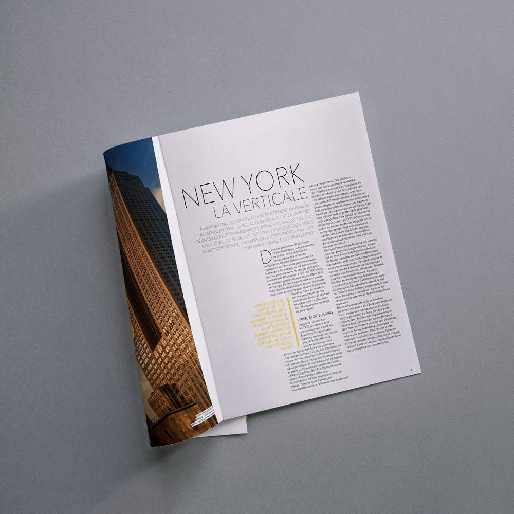 Magazine de voyage New York homepage