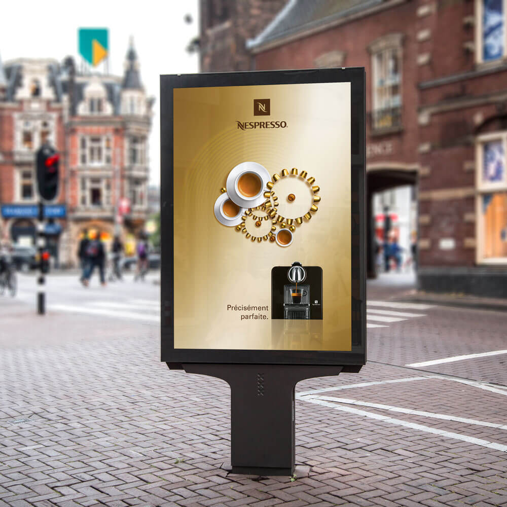 Nespresso campagne de publicité internationale homepage