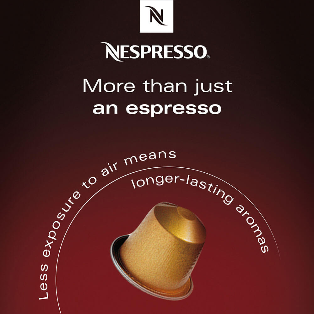 Nespresso communication permanente homepage